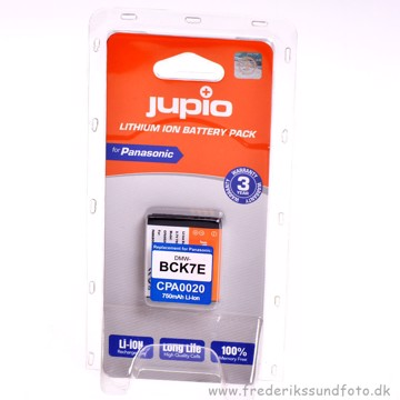 Jupio CPA0020 Panasonic DMW-BCK7E Batteri