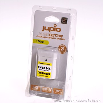 Jupio CNI0102V4 EN-EL14a Ultra Edition Batteri