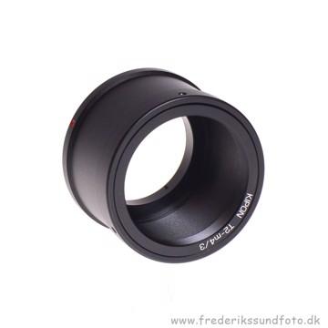 Kipon T2 objektiv Adapter til MFT  Micro4/3 kamera