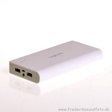 Logilink Mobile PowerBank 20000mAh Hvid