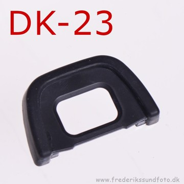 Gummi øjestykke som Nikon DK-23