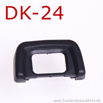 Gummi øjestykke som Nikon DK-24