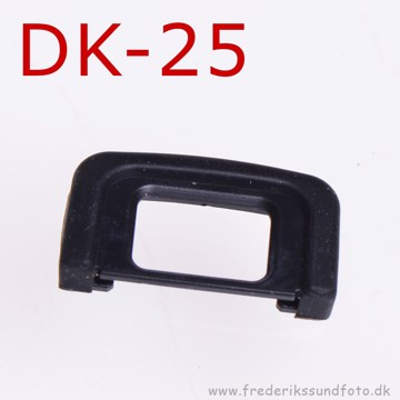Gummi øjestykke som Nikon DK-25