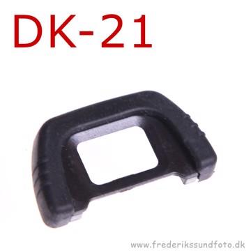 Gummi øjestykke som Nikon DK-21
