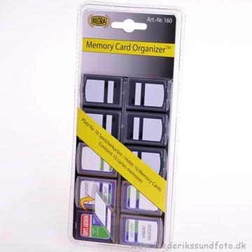 Bilora Memory Card safe til 10 SD kort