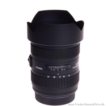 Sigma 12-24 mm f:4,5-5,6 EX DG HSM t/Canon