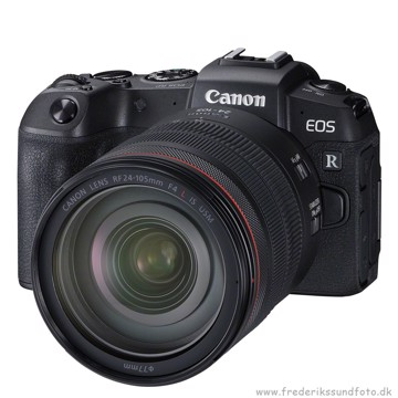 Canon EOS RP m/ RF 24-105mm L + EF-RF Adapter