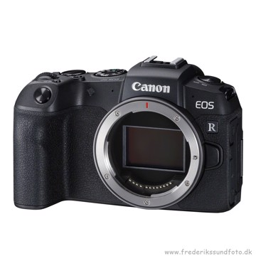 Canon EOS RP m/ EF-RF Adapter