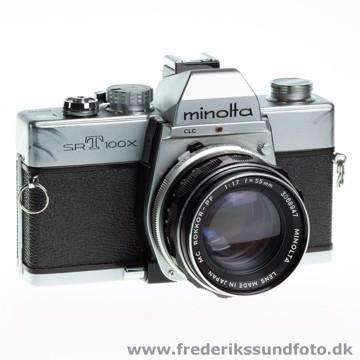 BRUGT Minolta SRT100x m/55mm f/1.7