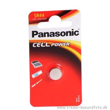 PANASONIC SR44 1,55V Silver oxide