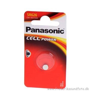377 / SR626 1,55V Silver oxide batteri