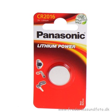 PANASONIC CR2016 Lithium 3V batteri