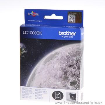 Brother LC1000BK sort blæk