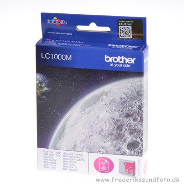 Brother LC1000M magenta  blæk