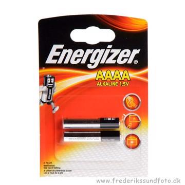 Energizer AAAA 1,5V Alkaline batteri 2pk.