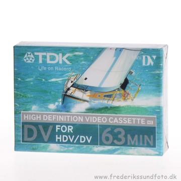 TDK HD Mini-DV bånd 63min.