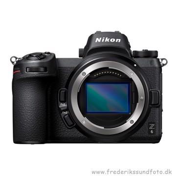 Nikon Z 6 hus m/FTZ adapter & XQD kort