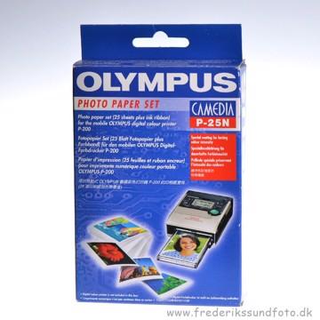 Olympus Camedia P-25N 10x15 Farve og Printerpapir