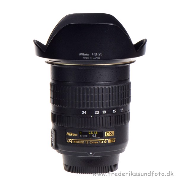 BRUGT Nikon AF-S 12-24mm f/4G ED DX
