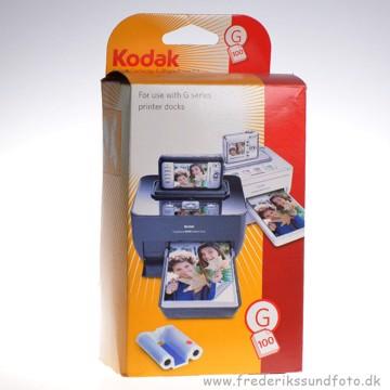 Kodak G 100 papir og farve til 100 print