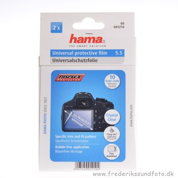 "Hama Universal beskyttelsesfilm 5.5""14cm diagonal"