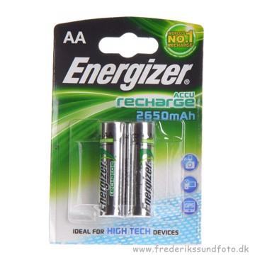 Energizer AA genopladelig 2650mAh 2pk
