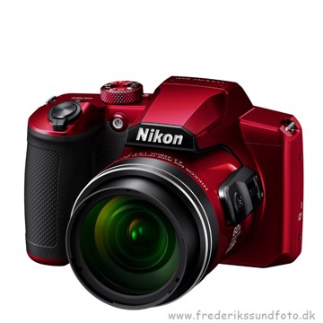 Nikon Coolpix B600 rød