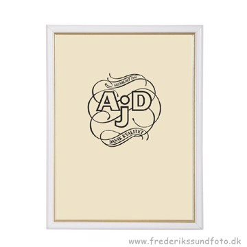 ADJ 3121 20x25 Ramme Hvid/Guld