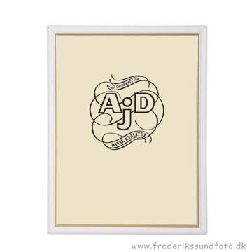 ADJ 3121 9x12 Ramme Hvid/Guld