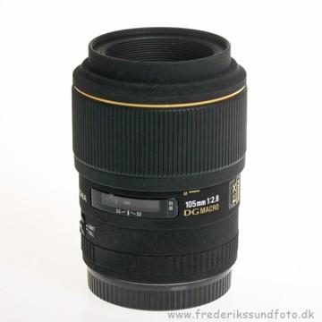 BRUGT Sigma 105mm Macro f/2.8 DG EX t/Canon