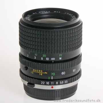 BRUGT Cosina 35-70mm f/3.5-4.5 til Olympus OM