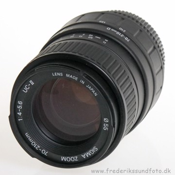 BRUGT Sigma 70-210mm f/4-5.6 uden motor til Nikon
