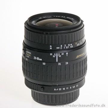 BRUGT Sigma AF A 28-80mm f/3.5-5.6