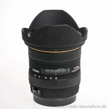 BRUGT Sigma 10-20mm EX DC HSM til Canon