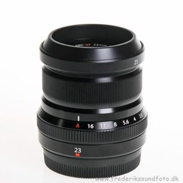 Fujifilm XF 23mm f/2 R WR sort