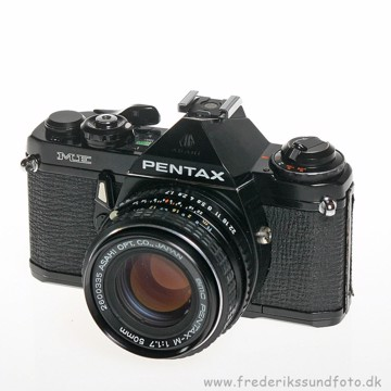 BRUGT Pentax ME m/50mm f/1.7