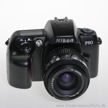 BRUGT Nikon F60 m/35-70mm f/3.3-4.5