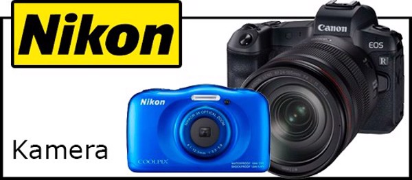 Billede til varegruppe Nikon kamera