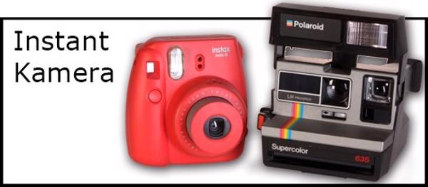 Billede til varegruppe Instant kamera, Fuji Instax & Polaroid
