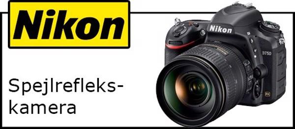 Billede til varegruppe Nikon spejlreflekskamera