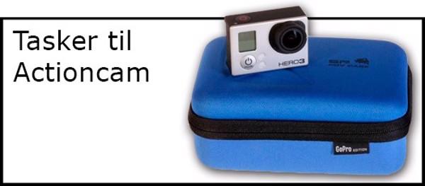Billede til varegruppe Tasker til actioncam kit