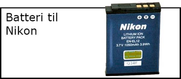 Billede til varegruppe Batteri til Nikon kamera