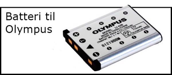Billede til varegruppe Batteri til Olympus kamera