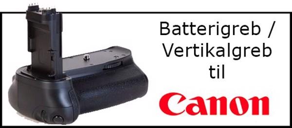 Billede til varegruppe Batterigreb til Canon