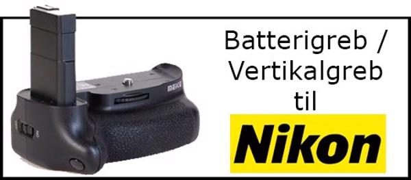 Billede til varegruppe Batterigreb til Nikon