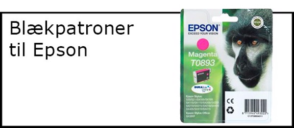 Billede til varegruppe Blæk til Epson printer