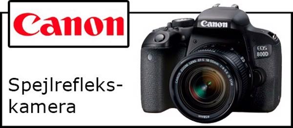 Billede til varegruppe Canon spejlreflekskamera