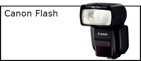 Billede til varegruppe Flash til Canon kamera