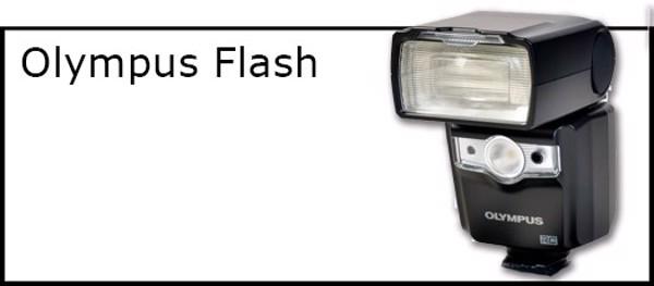 Billede til varegruppe Flash til Olympus kamera