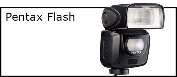 Billede til varegruppe Flash til Pentax kamera